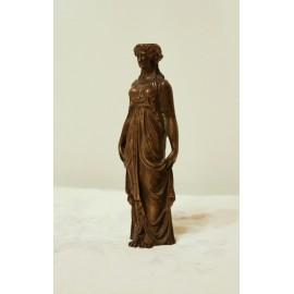 Bronze femme cariatide époque début 19ème siècle