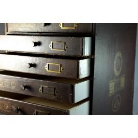 Cartonnier à 8 tiroirs fin 19ème siècle